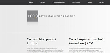 Corporate website for Retail MarketWebsite for Retail Marketing Practiseng Practice Ltd.