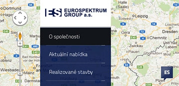 New website for the company EUROSPEKTRUM GROUP a.s.